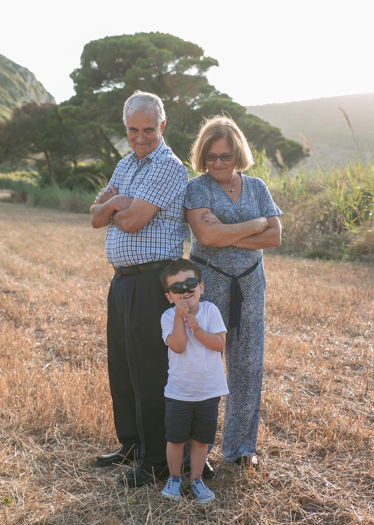 Sessão fotográfica de família